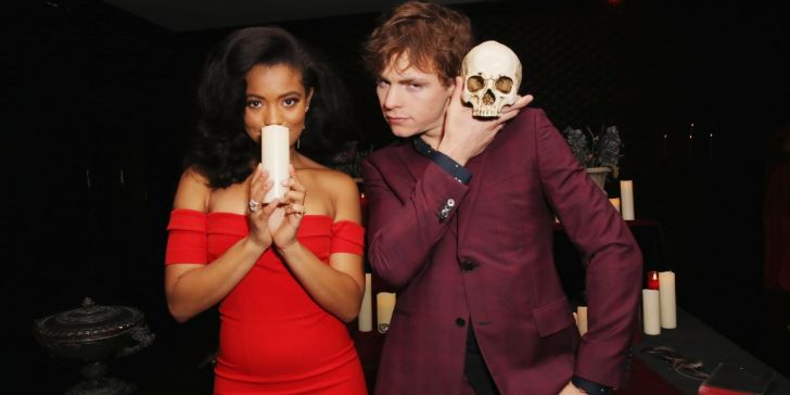 Chilling Adventures of Sabrina Stars Ross Lynch and Jaz Sinclair Spotted Lip-Locking Amid Relationship Rumors