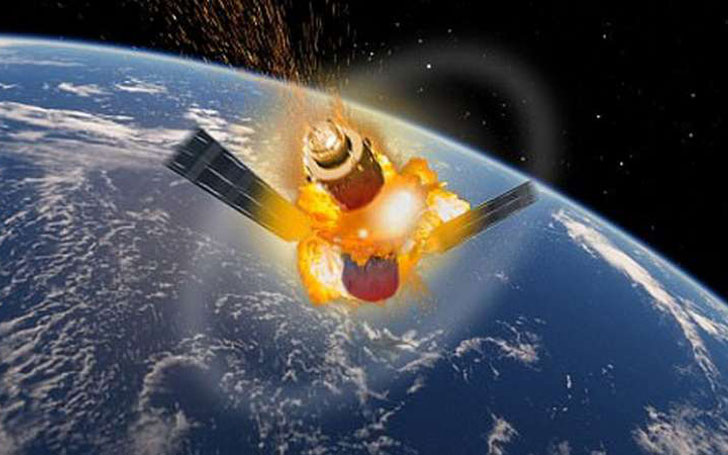 Chinese Space Station ''Tiangong-1'' Reenters Earth And Hits Off Coast Of Tahiti At 17,000mph