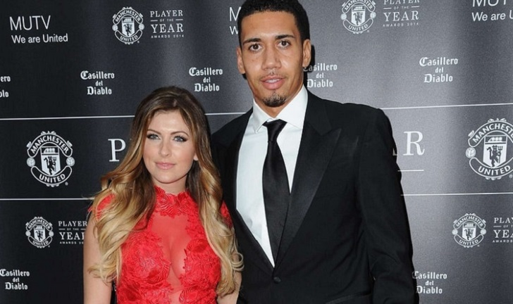 Chris Smalling Welcomes His First Child Leo Asher With Wife Sam