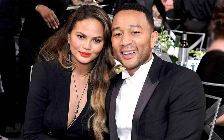 Chrissy Teigen Cake Themed Baby Shower Attended By Kim Kardashian, Kris Jenner, And Kanye West