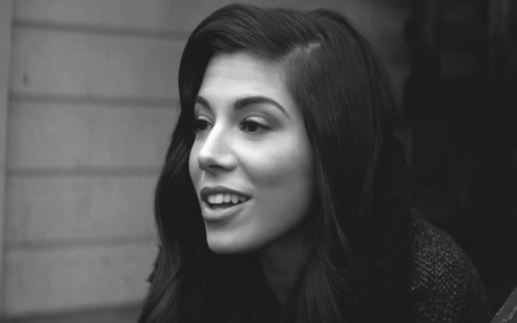 Christina Perri shares an adorable Photo of Newborn Daughter Carmella