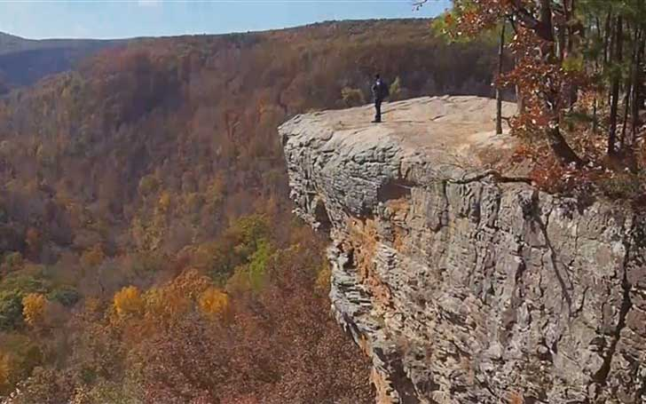 College Student On A Trip Falls 100 Ft. Down To Death While Posing For A Photo