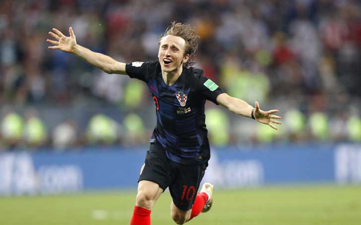 Croatian Footballer Luca Modric Wins FIFA Best Player Of The Year Ahead Of Cristiano Ronaldo And Mo Salah
