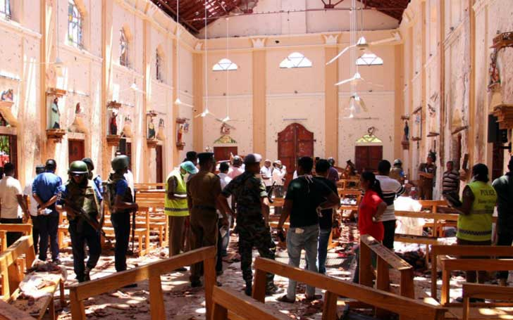 Death Toll Rises To 290 In Sri Lanka Bomb Attacks-Police Arrested 24 Suspects