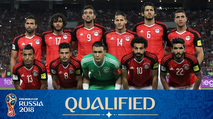 World Cup 2018 Egypt Squad