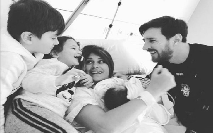 Family of Five! Argentine Forward Lionel Messi became father for the third time; Welcomes a baby boy with Wife Antonella Roccuzzo