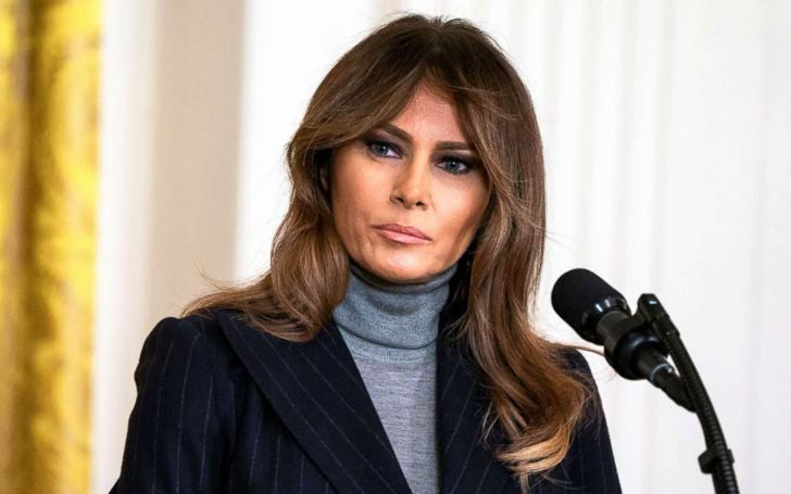 First Lady Melania Trump Undergoes Kidney Surgery At Walter Reed Medical Center