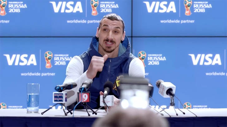 Football Legend Zlatan Ibrahimovic Is Going To The 2018 World Cup Russia