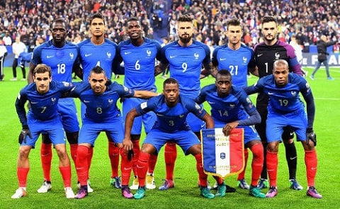 World Cup 2018 Team Of France