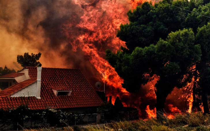 Greece Wildfire:At Least 50 Killed And Hundreds Of People Injured As Blazes Continues To Hit The Capital