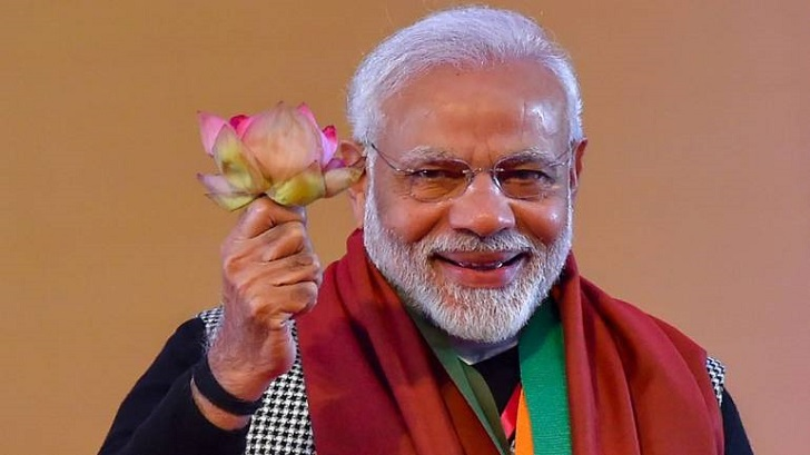 India Election 2019: Prime Minister Narendra Modi Thanks His Supporter For Giving Him A