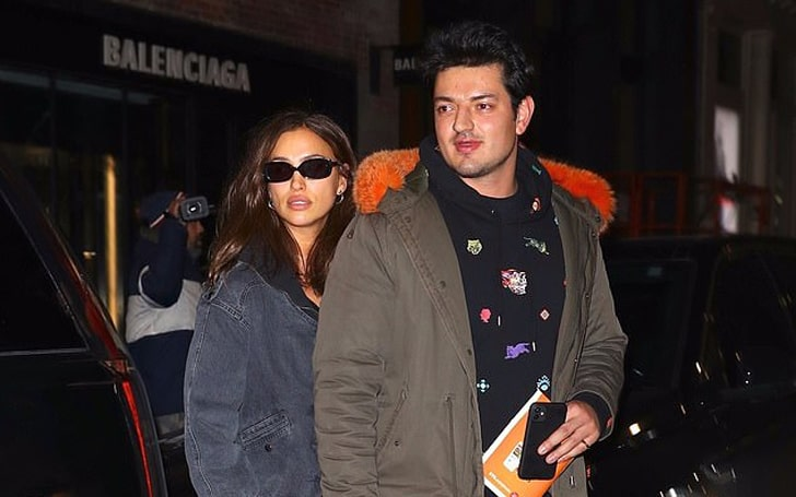 Irina Shayk Spotted With A Mystery Man In New York
