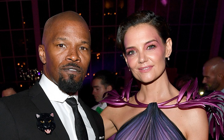 Jamie Foxx And Katie Holmes Pose At The 2019 Met Gala As A Couple