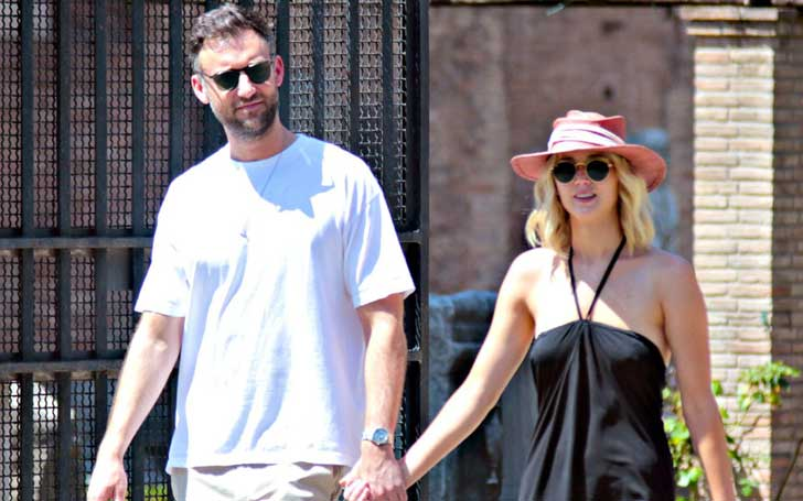 Jennifer Lawrence Packed On PDA With Boyfriend Crooke Maroney