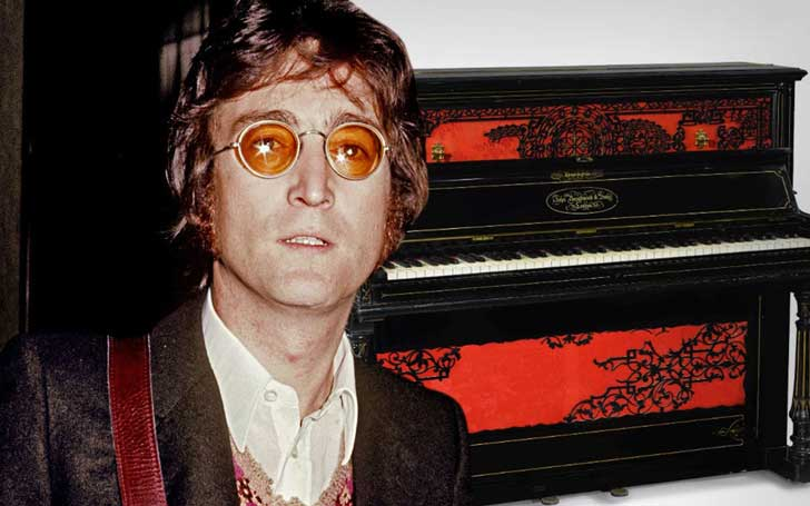 John Lennon's Piano Fetches $718k At Auction-Indianapolis Colts Owner Happy To Own It