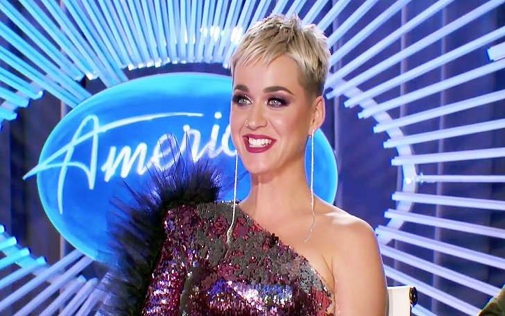 Katy Perry Kissed a 19 Year Old American Idol Contestant Benjamin Glaze