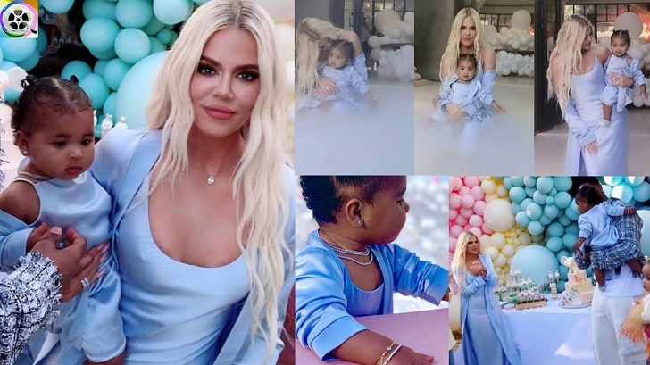 Khloe Kardashian And ex Tristan Thompson Barely Interacted At Daughter's First Birthday Bash