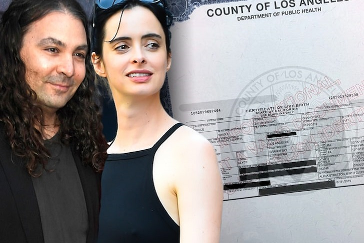 Krysten Ritter Welcomed A Baby Boy With Boyfriend Adam Granduciel