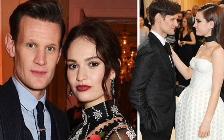 Lily James and Matt Smith Photographed Together Amid Split Rumors