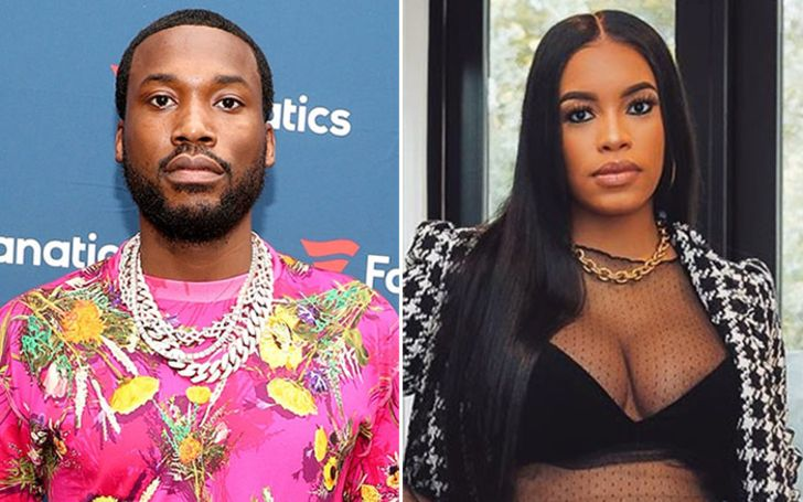 Meek Mill Welcomes a Baby With His Girlfriend Milan Harris