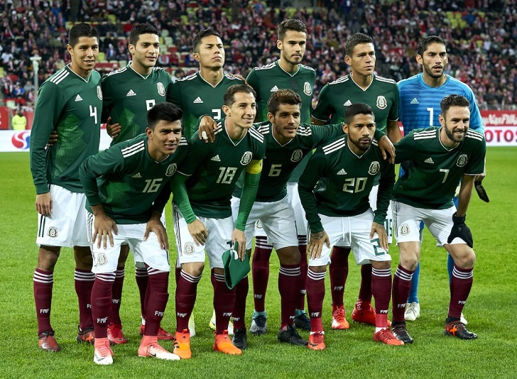 Mexico National Football Team, World Cup 2018