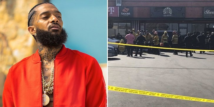 Nipsey Hussle's Alleged Shooter Captured on Surveillance Camera