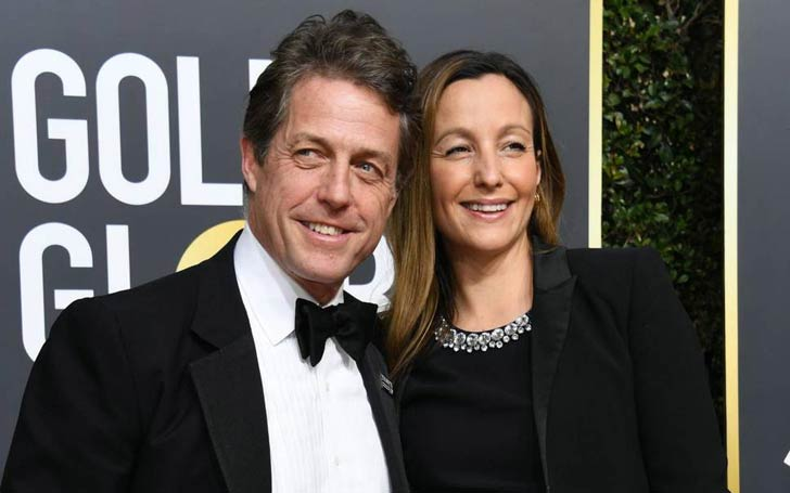 Notting Hill Actor Hugh Grant And Long-Time Girlfriend Anna Eberstein Officially Together