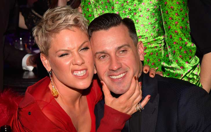 Pink's Husband Carey Hart Warns Wildfire Looters Writing