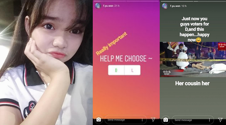 Teenage girl From Malaysia Kills Herself After Instagram Poll Deciding Life And Death
