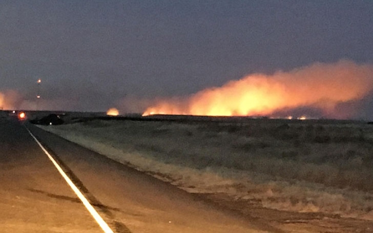 Texas Wildfire: Firefighters Battling Multiple Blazes In Amarillo, Potter County