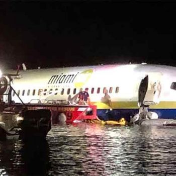 21 People Injured After Plane Carrying 143 People Skids From Runway Into Florida River