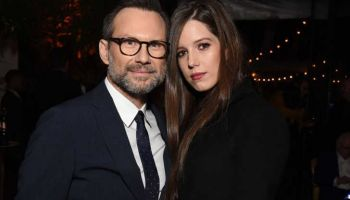Actor Christian Slater Welcomes a Daughter with Wife Brittany