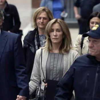 Actress Felicity Huffman Pleaded Guilty In College Admission Scandal