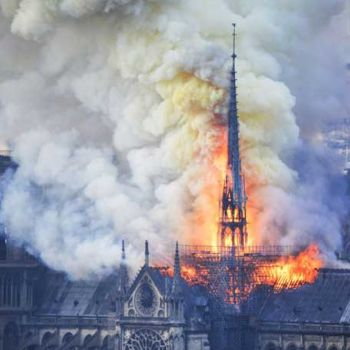 Actress Salma Hayek's Husband And Gucci Billionaire, Fran�ois-Henri Pinault Donates $113 Million To Rebuild Notre Dame Cathedral