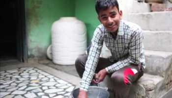 Amazing 19-Year-Old Indian Boy Can Resist 11000 Volts Electricity