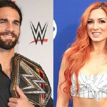 Becky Lynch And Seth Rollins Confirm Relationship Sharing A Passionate Kiss
