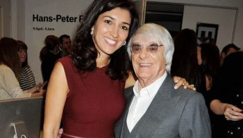 Bernie Ecclestone and Fabiana Flosi Are Expecting First Child, a Baby Boy, Together