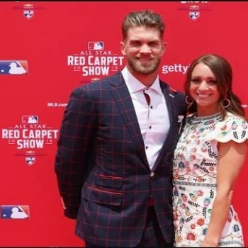 Couple Bryce Harper and Kayla Harper, Warming up for their First Child