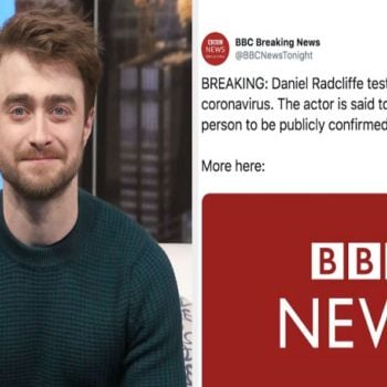 Daniel Radcliffe Shuts Down Rumor That He Has Coronavirus