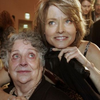 Jodie Foster's Mother Evelyn