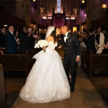Faith Jenkins and Kenny Lattimore Marry in Romantic Ceremony in Los Angeles