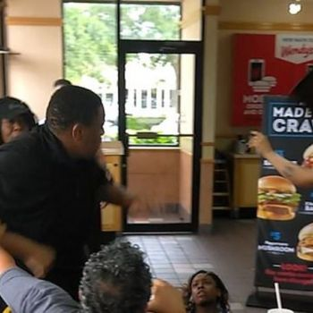 Fight Broke Out Between Male Employee And Two Female Customers At Wendy's In Florida