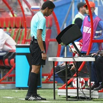 First Use Of Video Assistance Referee In The World Cup History