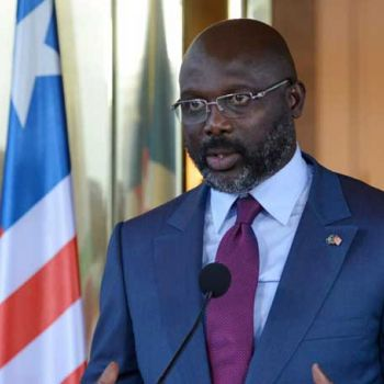 Former FIFA Player Of The Year And Liberian President George Weah Plays For Liberia At 51