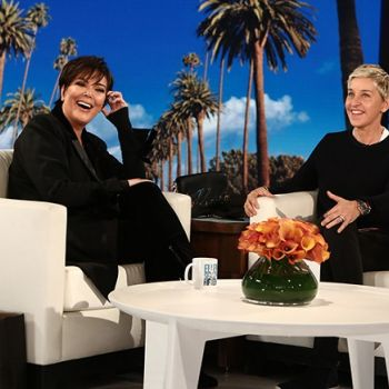 Ellen DeGeneres Blames Kris Jenner For Getting Her Sick