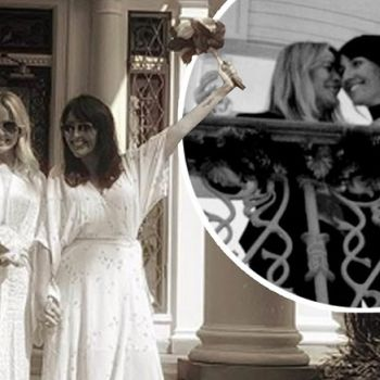 Michelle Hardwick And Kate Brooks Got Married At Graceland