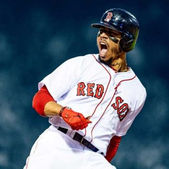 MLB Star Mookie Betts Expecting First Child With Longtime Girlfriend Brianna Hammond