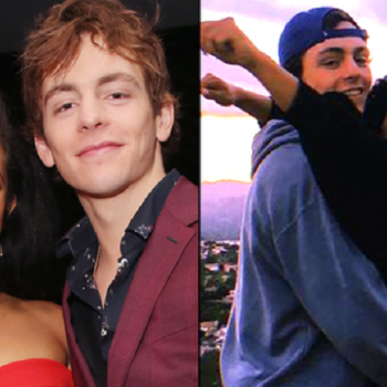 New Couple Alert: The Chilling Adventures of Sabrina Stars' Ross Lynch and Jaz Sinclair Spotted Kissing