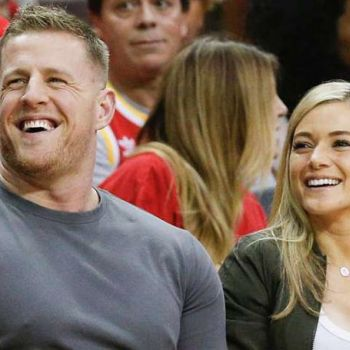 NFL Star J. J. Watt and Soccer Player Kealia Ohai Married in The Bahamas