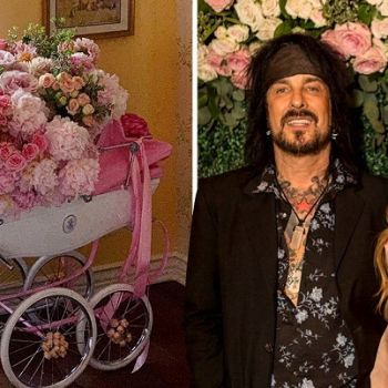 Nikki Sixx Welcomes A Baby Girl With His 3rd Wife Courtney Bingham
